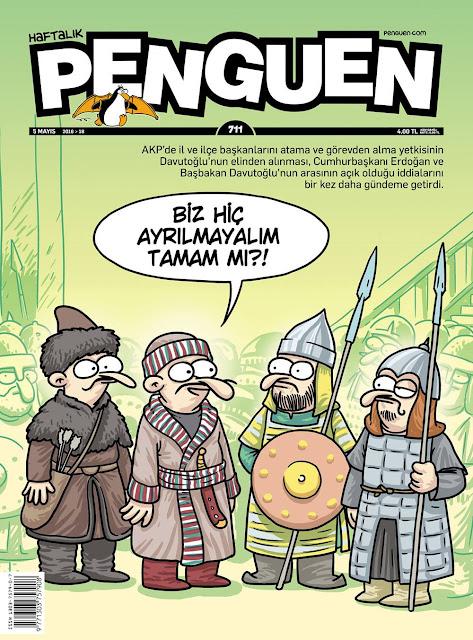 Penguen Dergisi - 5 Mayıs 2016 Kapak Karikatürü
