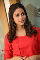 Actress Lavanya Tripathi Latest Pos in Red Dress at Radha Movie Success Meet .COM 0236.JPG