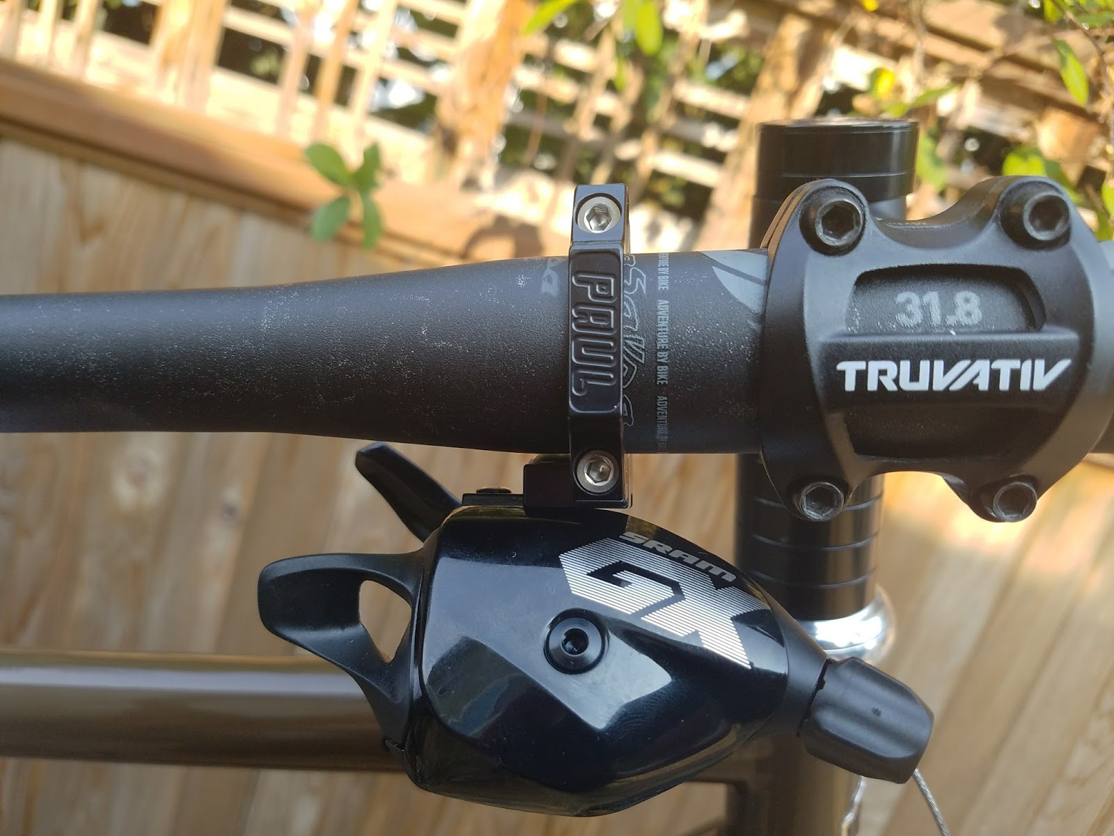 Pedal And Cast 2017 Surly Ogre 1x12 Bikepacking Build Adaptor Seatpost 272 The Sram Shifter Adapter From Paul Components Is Purpose Built To Solve This Very Problem