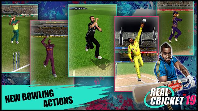 Real Cricket 19 Gameplay