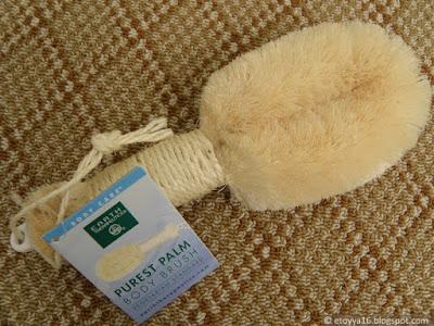 Мочалка Earth Therapeutics, Purest Palm Body Brush
