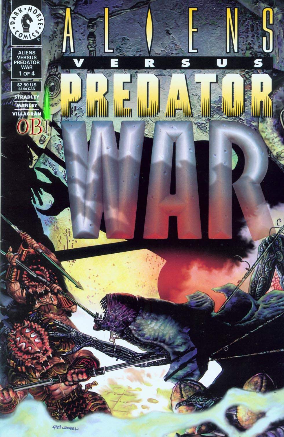 Aliens vs. Predator: War 1 Page 1