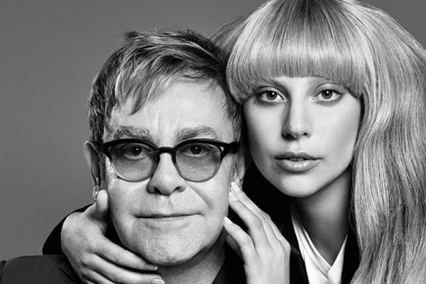 Lady Gaga y Elton John se unen para lanzar línea de ropa.