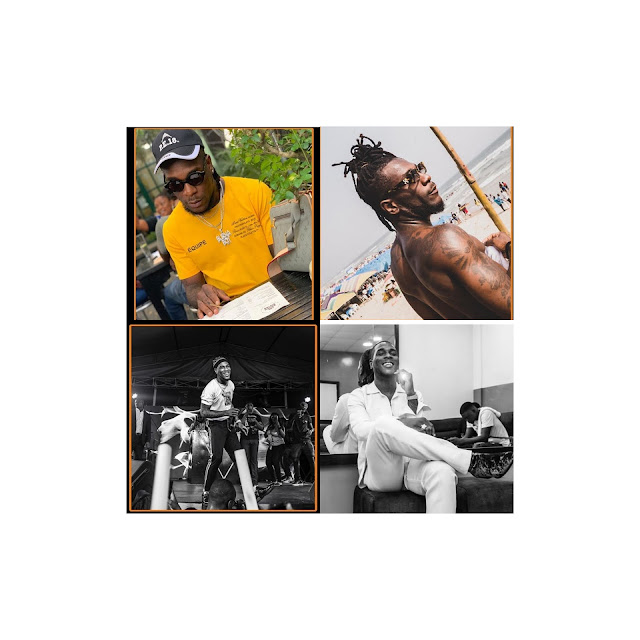 Various pictures of BurnaBoy