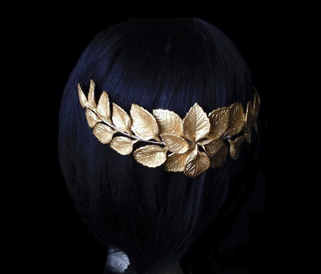 Peineta Novia Hojas Porcelana · Leaf Bridal Comb