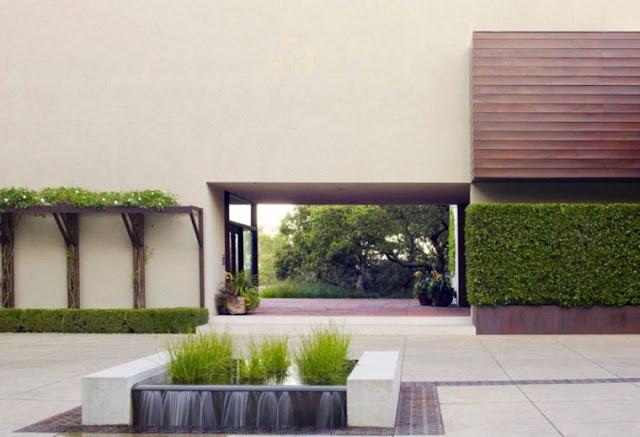 Minimalist garden