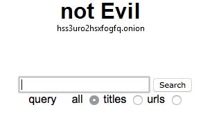 Not evil