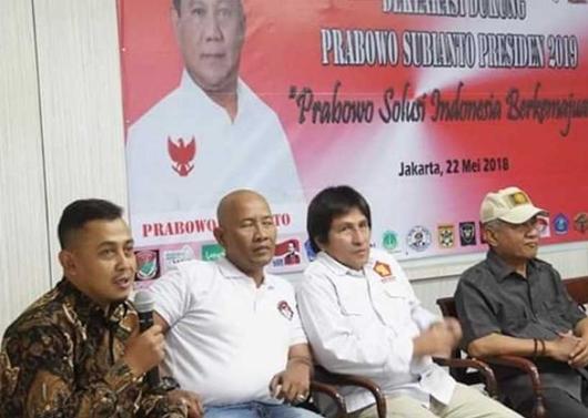 Beredar Foto Bagus Bawana Bersama Kubu Prabowo