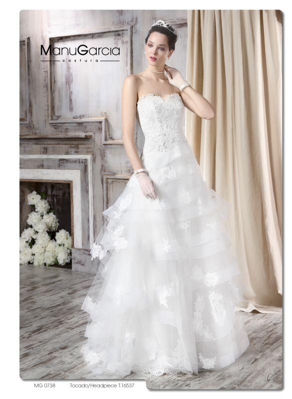 Fabulosos vestidos de novias | Colección Manu Garcia