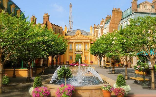 Francia: Parque Epcot en Orlando