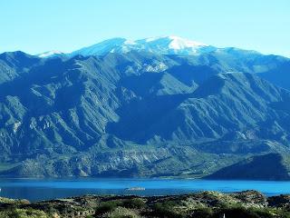 Dique (Barragem) de Potrerillos, Mendoza, Argentina