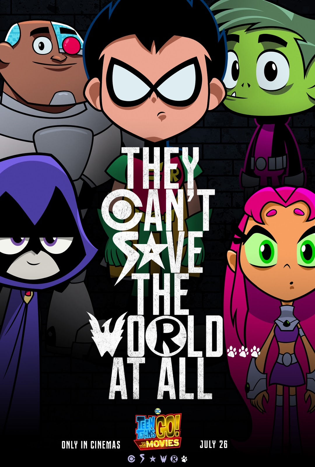 Teen Titans Go To The Movies Spoofs Justice League In Teaser Poster Sandal Voltus Marissa Series 1 It Seems Teens That All Major Superheroes Out There Are Starring Their Own Movieseveryone But Is