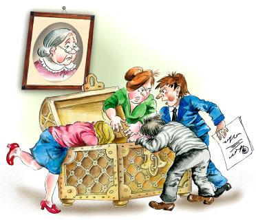 遺產承辦的手續及根據法律,遺產怎樣繼承及作出分配
