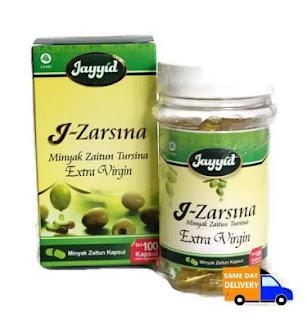 J-Zarsina Minyak Zaitun Tursina Extra Virgin 100 kapsul