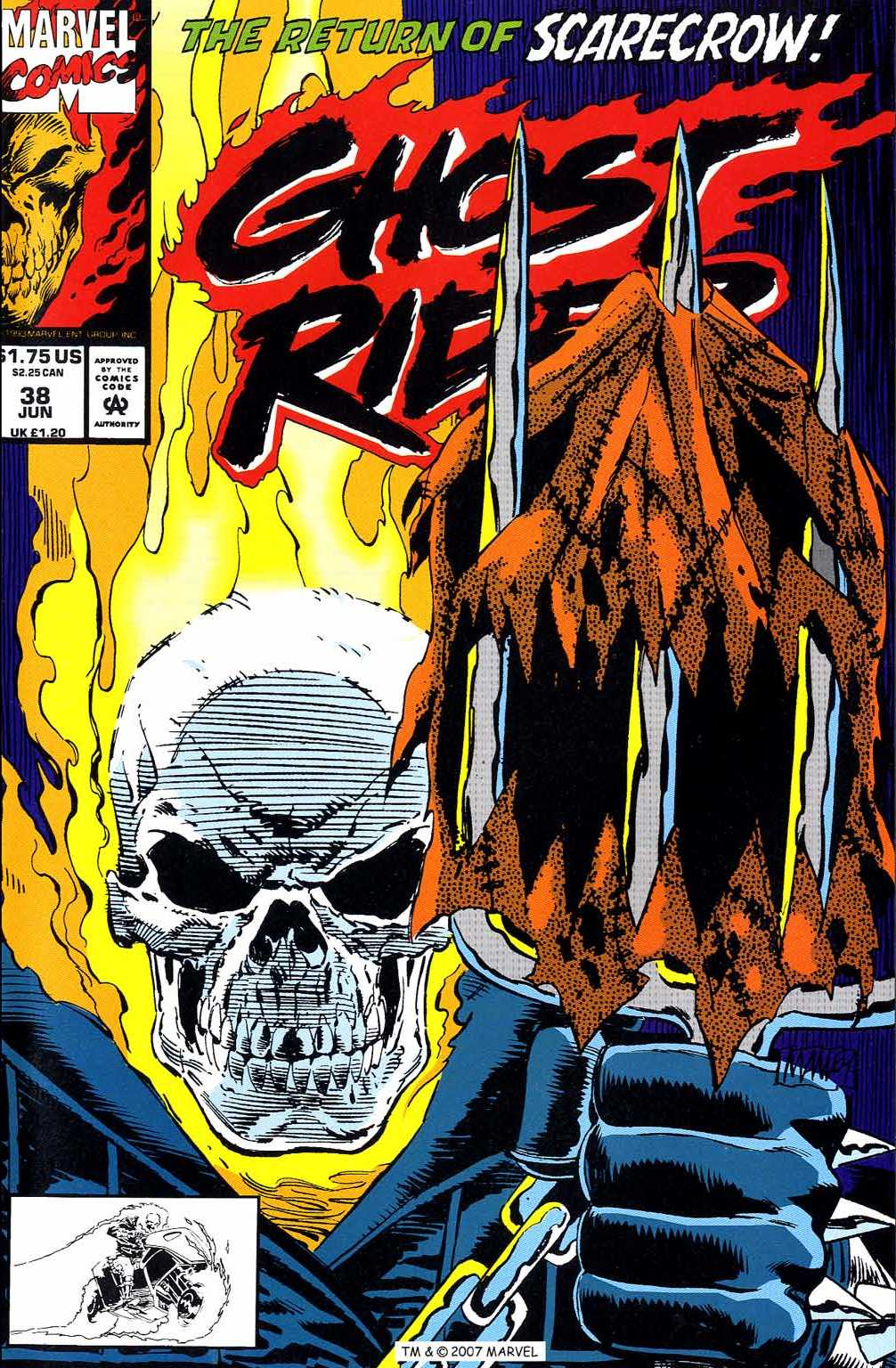 Ghost Rider (1990) 38 Page 1