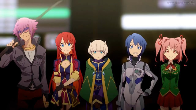 Re:Creators Episode 1 Subtitle Indonesia