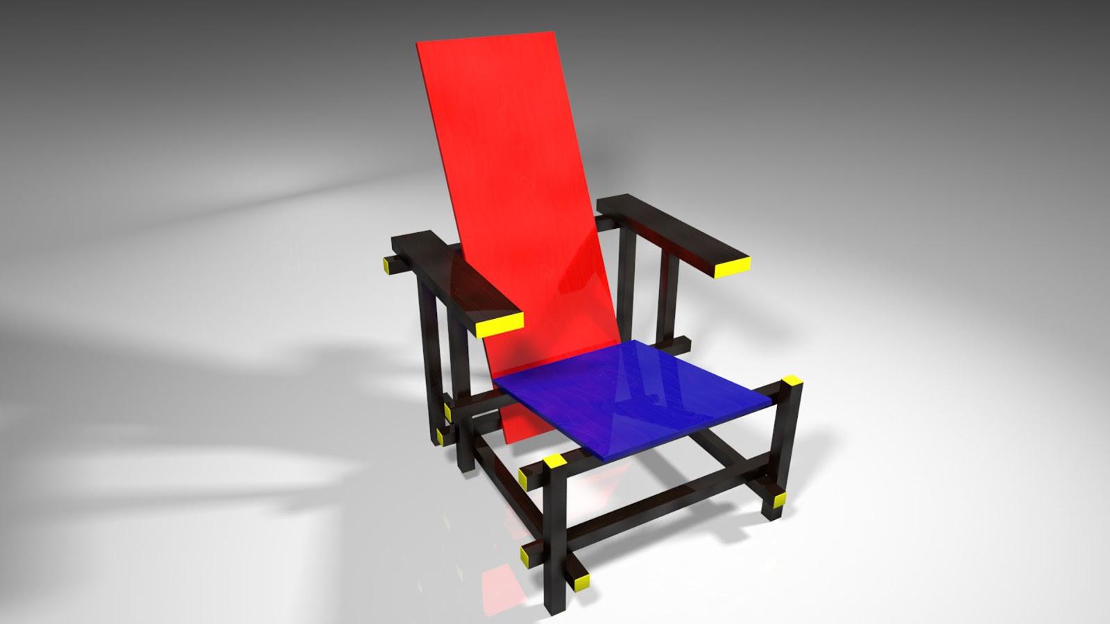 Amuzing vibez - Chaise rouge et bleue ...