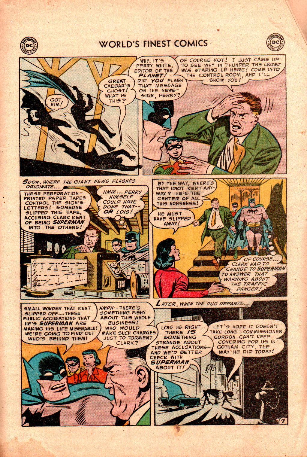 Read online World's Finest Comics comic -  Issue #78 - 9