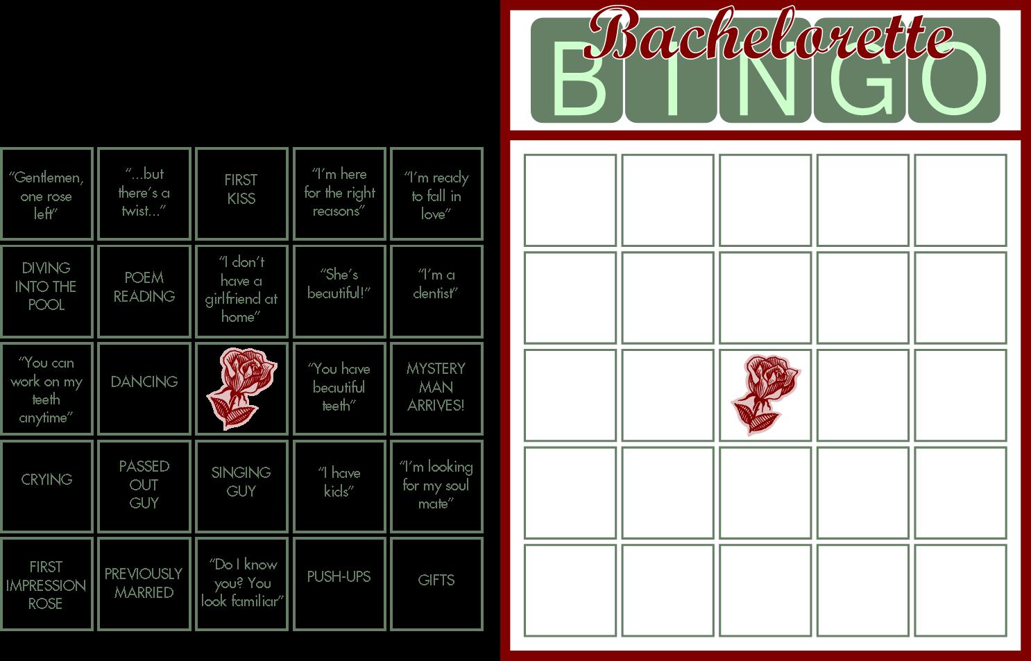 Embellish Free Printable New Bachelorette Bingo Cards