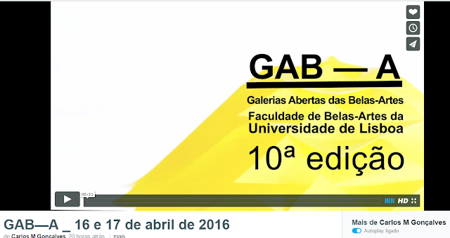 Video 10ª Edição GAB-A