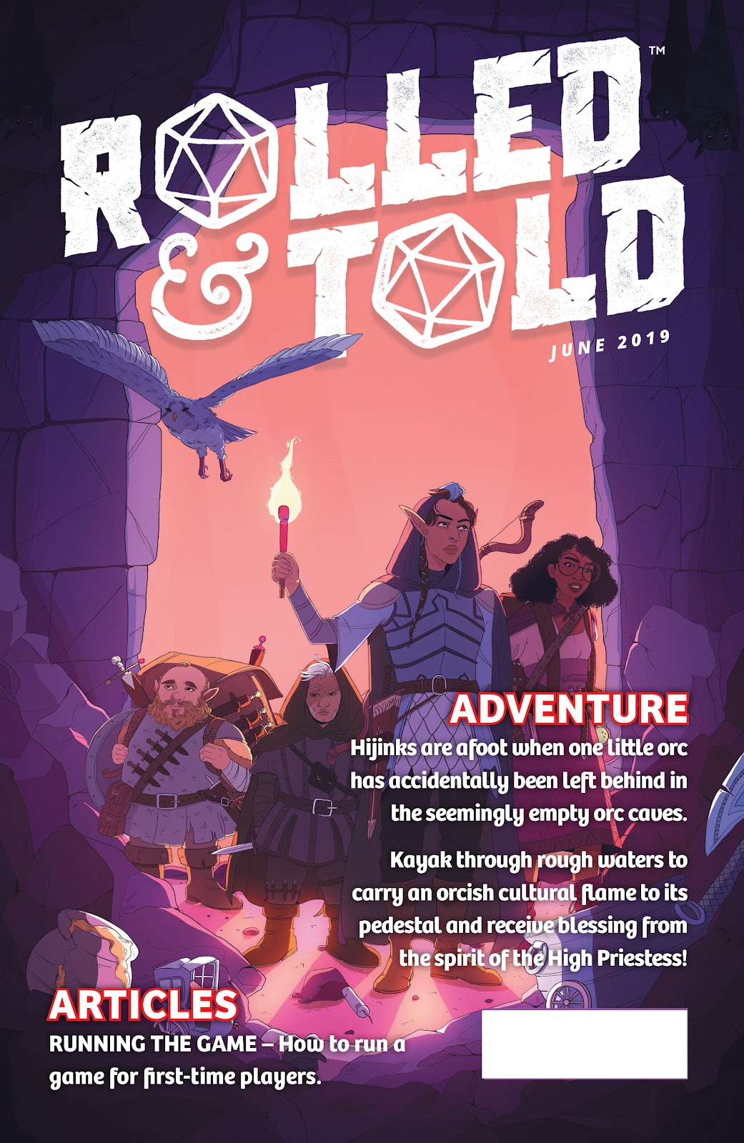 Read online Rolled & Told comic -  Issue #10 - 1