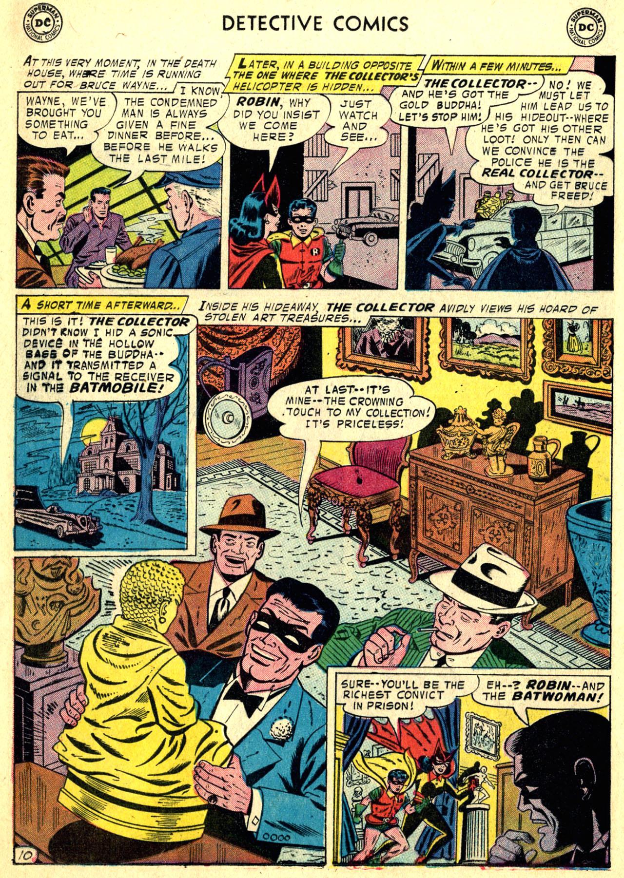 Read online Detective Comics (1937) comic -  Issue #249 - 12