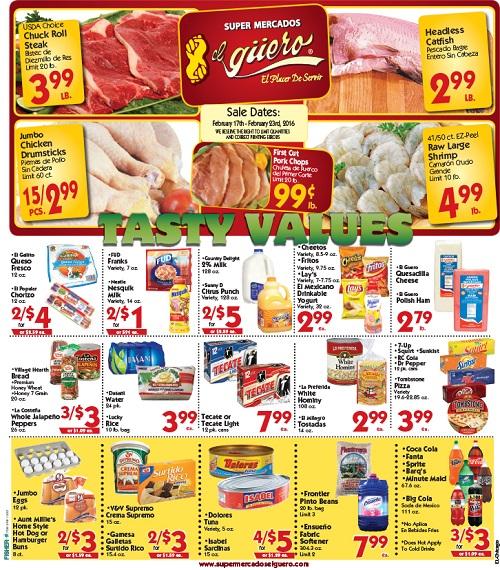 http://www.supermercadoselguero.com/en/weekly-ads