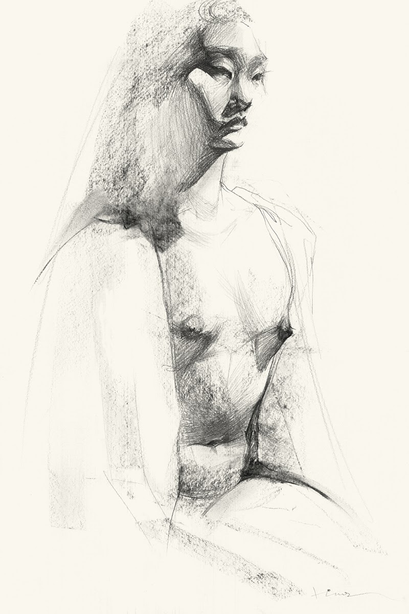 Drawings by Yulia Lobanov from Barcelona, Spain.