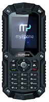 Telefon myPhone Hammer czarny z Biedronki