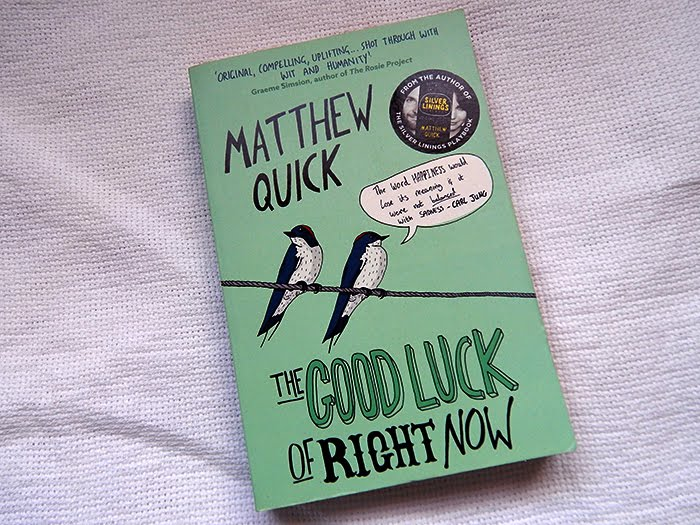 A Sorte do Agora / The Good Luck of Right Now (Livro) | Amavelmente Irônica