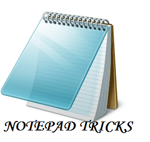 Top 5 Cool Tricks of Notepad