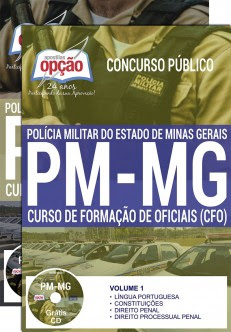 apostila Polícia Militar MG CFO 2017/2018.
