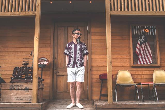 アロハ ヴィンテージ ハワイアン シャツ 東洋 サンサーフ 日本製 シュガーケーン 着こなし コーディネート