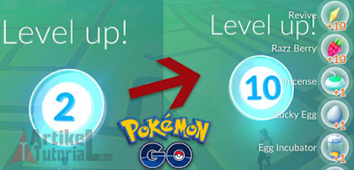 Cara Mudah dan Cepat Naik Level Game Pokémon GO