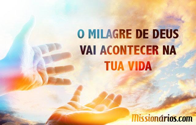 LIVRES PARA ADORAR #Missionários.com: O Milagre De Deus