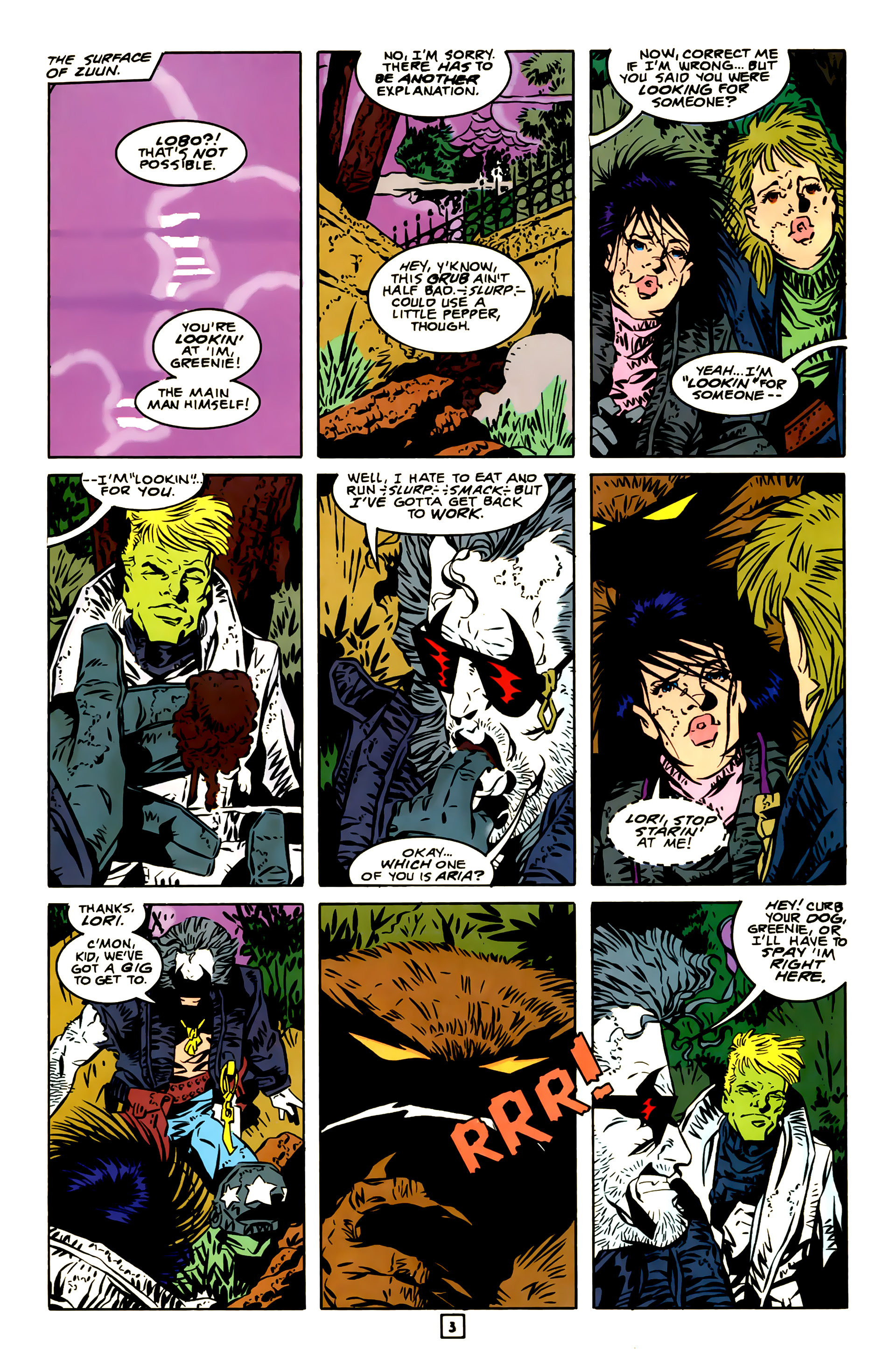 Legion of Super-Heroes (1989) 23 Page 3