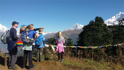annapurna family trek for children and elderly