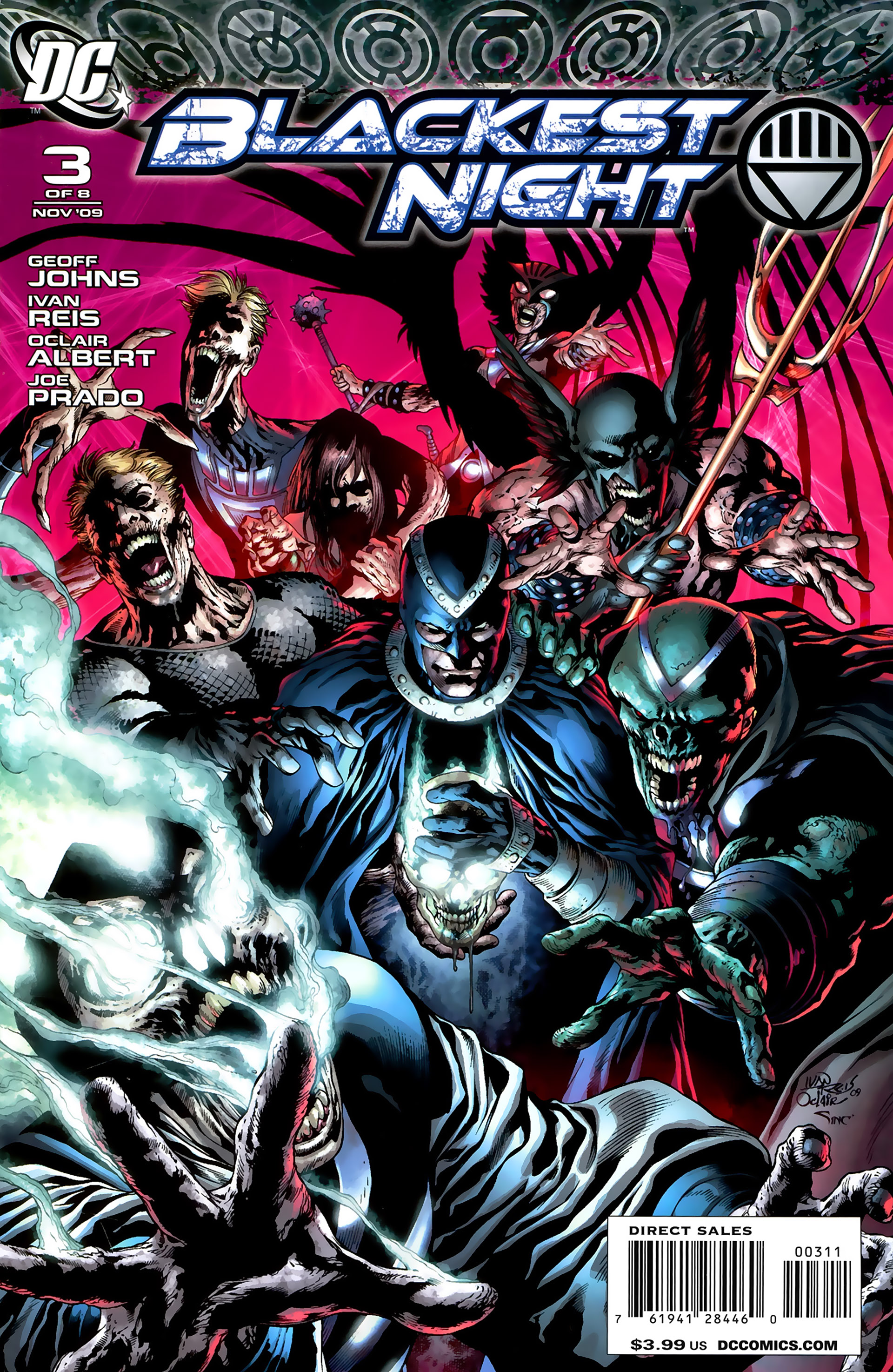 Blackest Night 3 Page 1