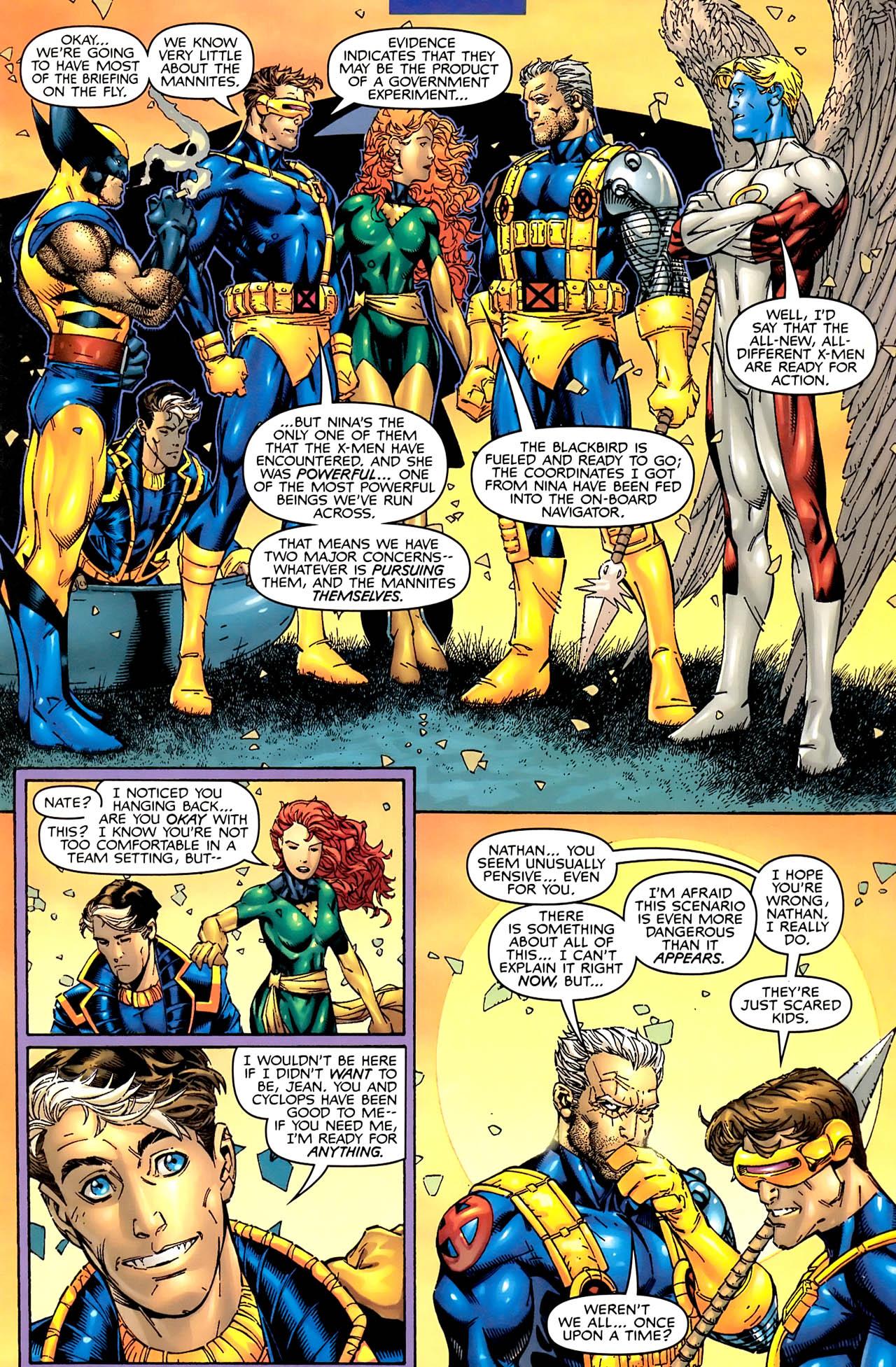 Read online Astonishing X-Men (1999) comic -  Issue #1 - 8