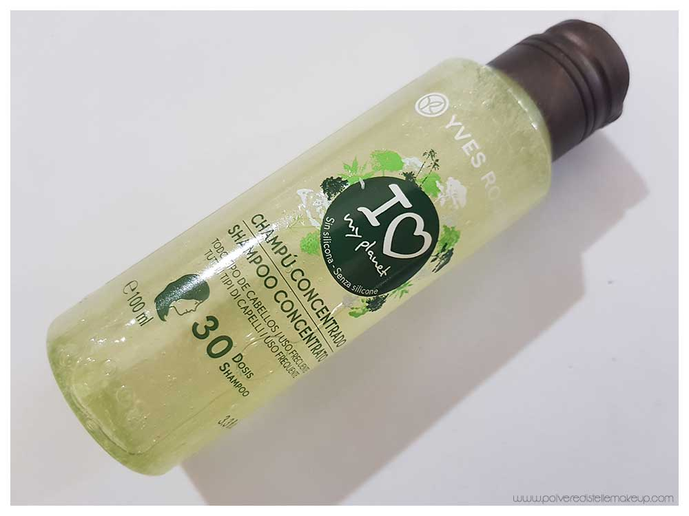 Yves Rocher I Love My Planet Shampoo concentrato