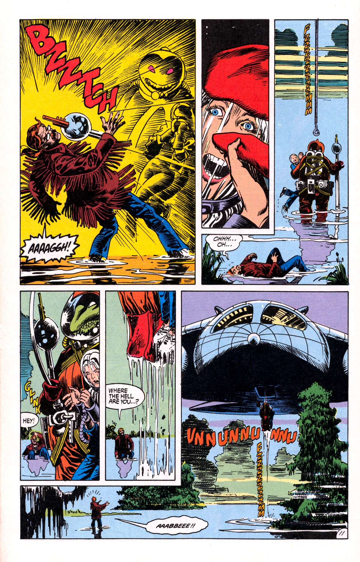 Swamp Thing (1982) Issue #81 #89 - English 12