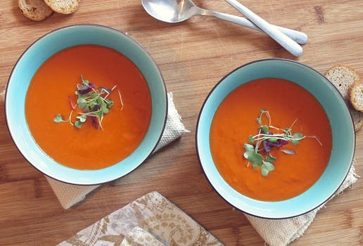Seasonal Recipe ~ Traditional Gazpacho served ice cold for those hot summer days