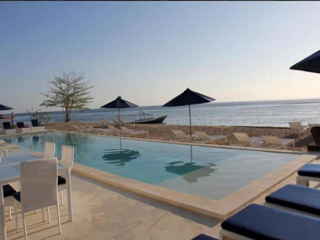 Kolam Renang Hotel Seri Resort Gili Meno Lombok