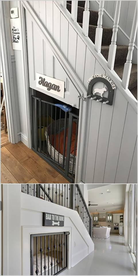 How to decorate the space under your stair decor units - How to decorate stairs ...