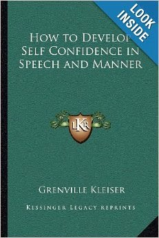 How to Develop Self-confidence in Speech & Manner