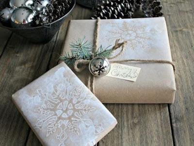 cómo decorar regalos de Navidad