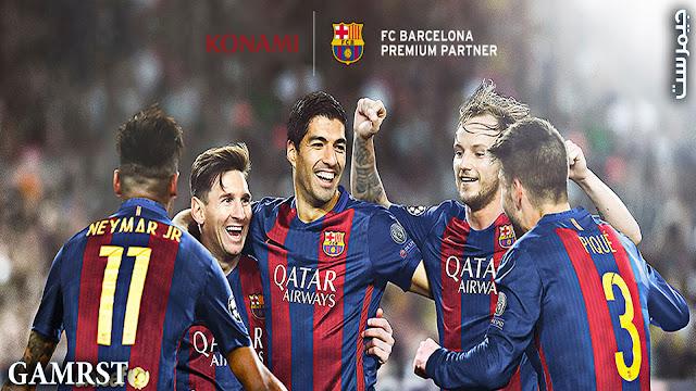 PES 2017 نسخة نادي برشلونة - FC Barcelona