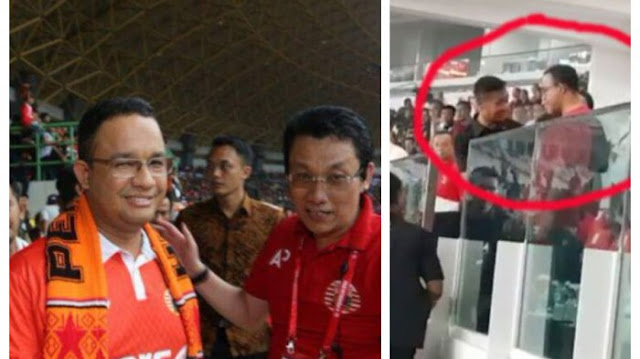 Biro Pers Setpres Ungkap Alasan Paspampres Tak Ijinkan Gubernur DKI Ikut Ke Podium Bersama Presiden Jokowi, Simak....