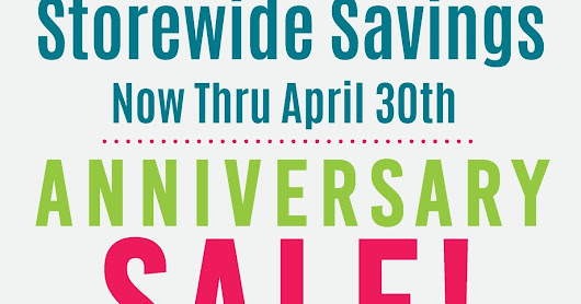 Wilkins & Olander 27th Anniversary Sale!  Huge!
