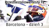 Robert Kubica w bolidzie Williamsa 2018 kask